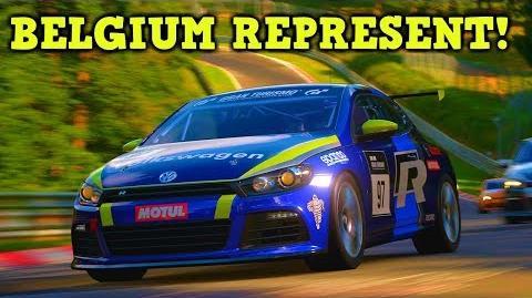 BELGIUM REPRESENT! GT Sport Nations Cup - PS4 Pro Online Gameplay HD