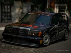 Mercedes-Benz 190 E 2.5 - 16 Evolution II Touring Car '92