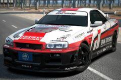Nissan GRAN TURISMO SKYLINE GT-R '01