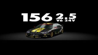 Gran Turismo 2 - Alfa Romeo 156 2.5 V6 24V HD Gameplay