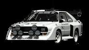 Audi Quattro S1 Base Model '86