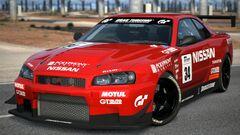 Nissan SKYLINE GT-R R34 Touring Car