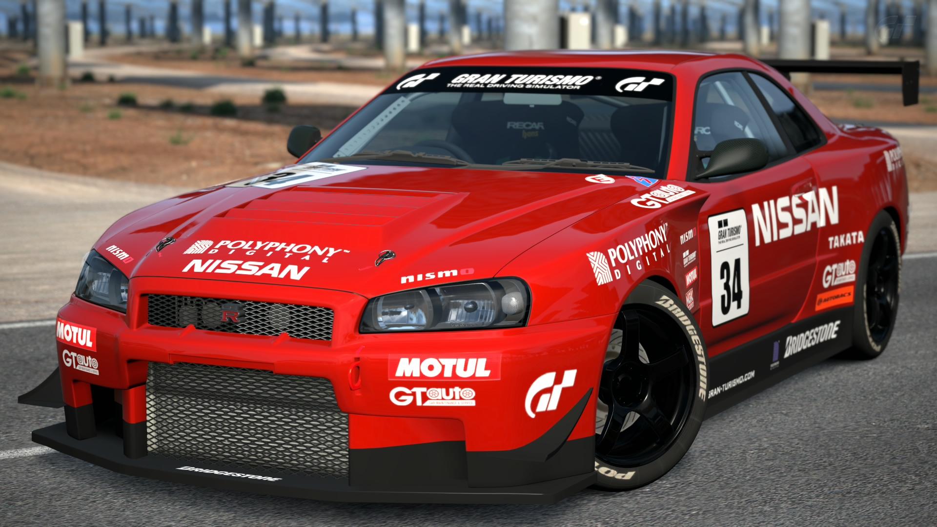 Image Nissan Skyline Gt R R34 Touring Car Jpg Gran