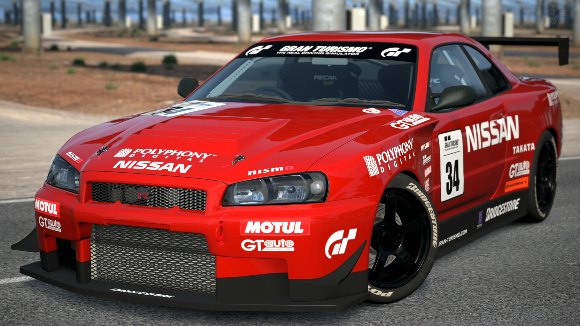 Nissan SKYLINE GT R R34 Touring Car