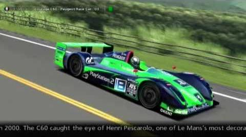Pescarolo Sport Courage C60 - Peugeot Race Car '03