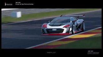 Audi Vision Gran Turismo Showcase