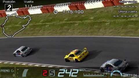 34-1 Gran Turismo PSP Nürburgring Race Replay PENNZOIL Nismo