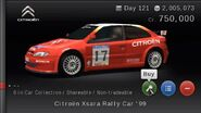 Citroën Xsara Rally Car '99 (GTPSP)