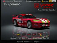 Dodge Viper GTS-R Team Oreca Race Car ♯91 '00