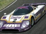 Jaguar XJR-9 LM Race Car '88