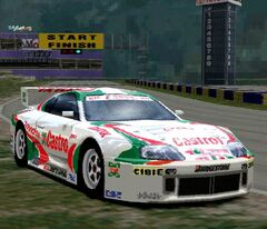 Toyota Castrol Supra GT '96