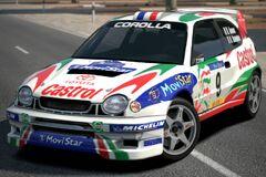 Toyota COROLLA Rally Car '98