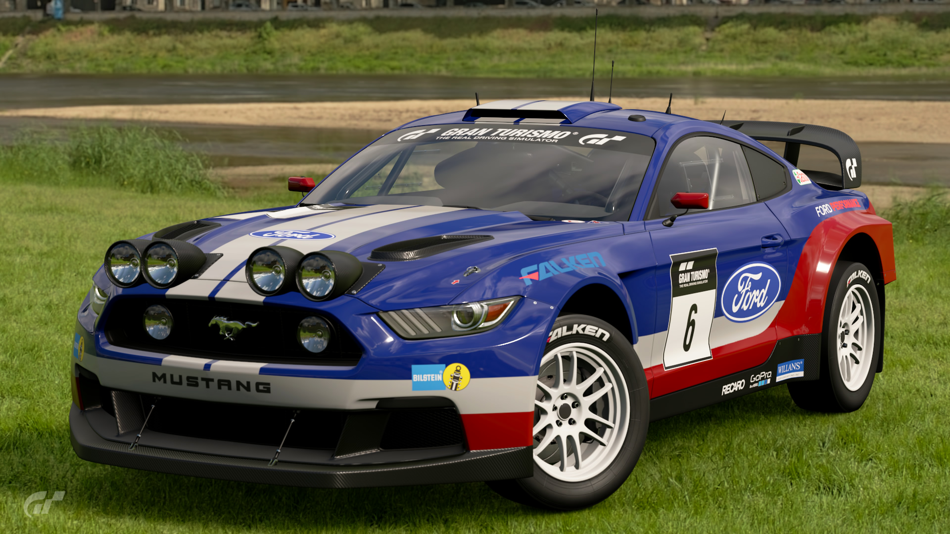 Ford Mustang GrB Rally Car