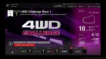 Gran Turismo®SPORT 4WD Challenge