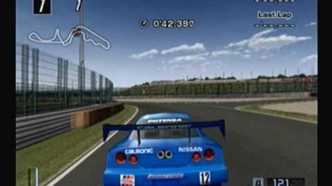 Gran Turismo 4, 401 of 708 cars- 2000 Nissan Calsonic Skyline (JGTC)