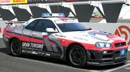 Nissan GRAN TURISMO SKYLINE GT-R (PaceCar) '01 (GT5)