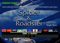 Spider & Roadster (Beginner)