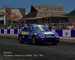 Subaru Impreza Rally Car '96