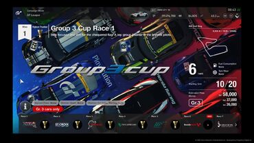 Group 3 Cup