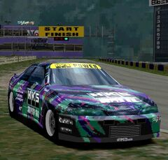 HKS R33 Drag GT-R