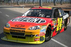 2010 Jeff Gordon ♯24 DuPont CHEVROLET IMPALA '10