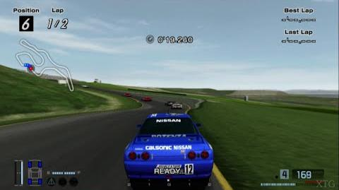 Gran Turismo 4 - Nissan CALSONIC SKYLINE GT-R Race Car HD PS2 Gameplay