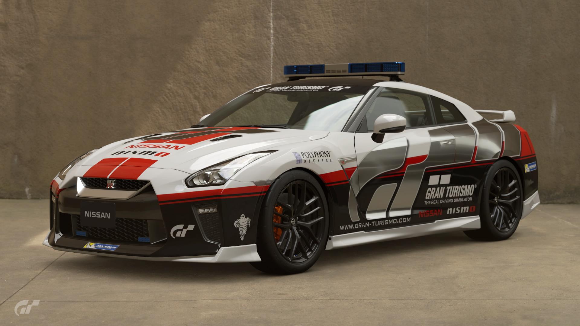 Nissan GT R Safety Car