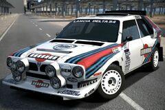 Lancia DELTA S4 Rally Car '85