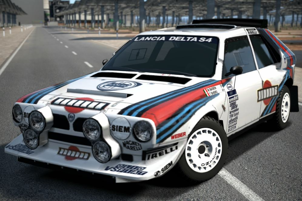 lancia delta s4 rally car 39 85 gran turismo wiki fandom. Black Bedroom Furniture Sets. Home Design Ideas