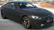BMW M4 Coupé Frozen Black Metalic