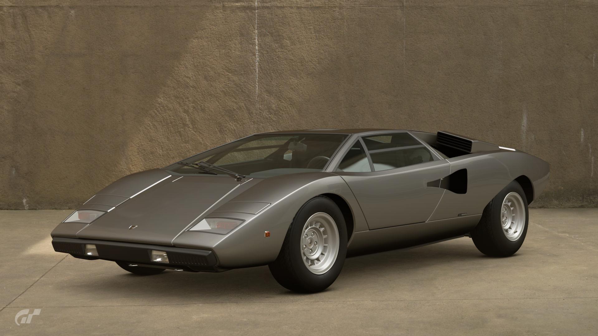 Lamborghini Countach Lp400 74 Gran Turismo Wiki Fandom Powered