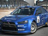 Mitsubishi Lancer Evolution X Rally Car