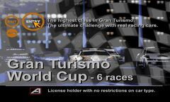 GT1 Gran Turismo World Cup