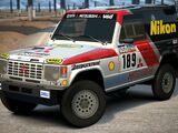 Mitsubishi PAJERO Rally Raid Car '85
