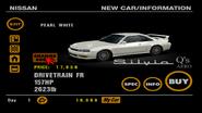 Nissan Silvia S14 Q's AERO (front)