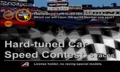 Hard-Tuned Car Speed Contest
