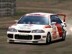 Mitsubishi Lancer Evolution III Rally Car '96