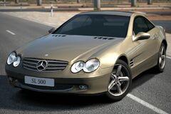 Mercedes-Benz SL 500 (R230) '02
