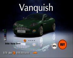 Aston Martin Vanquish '00
