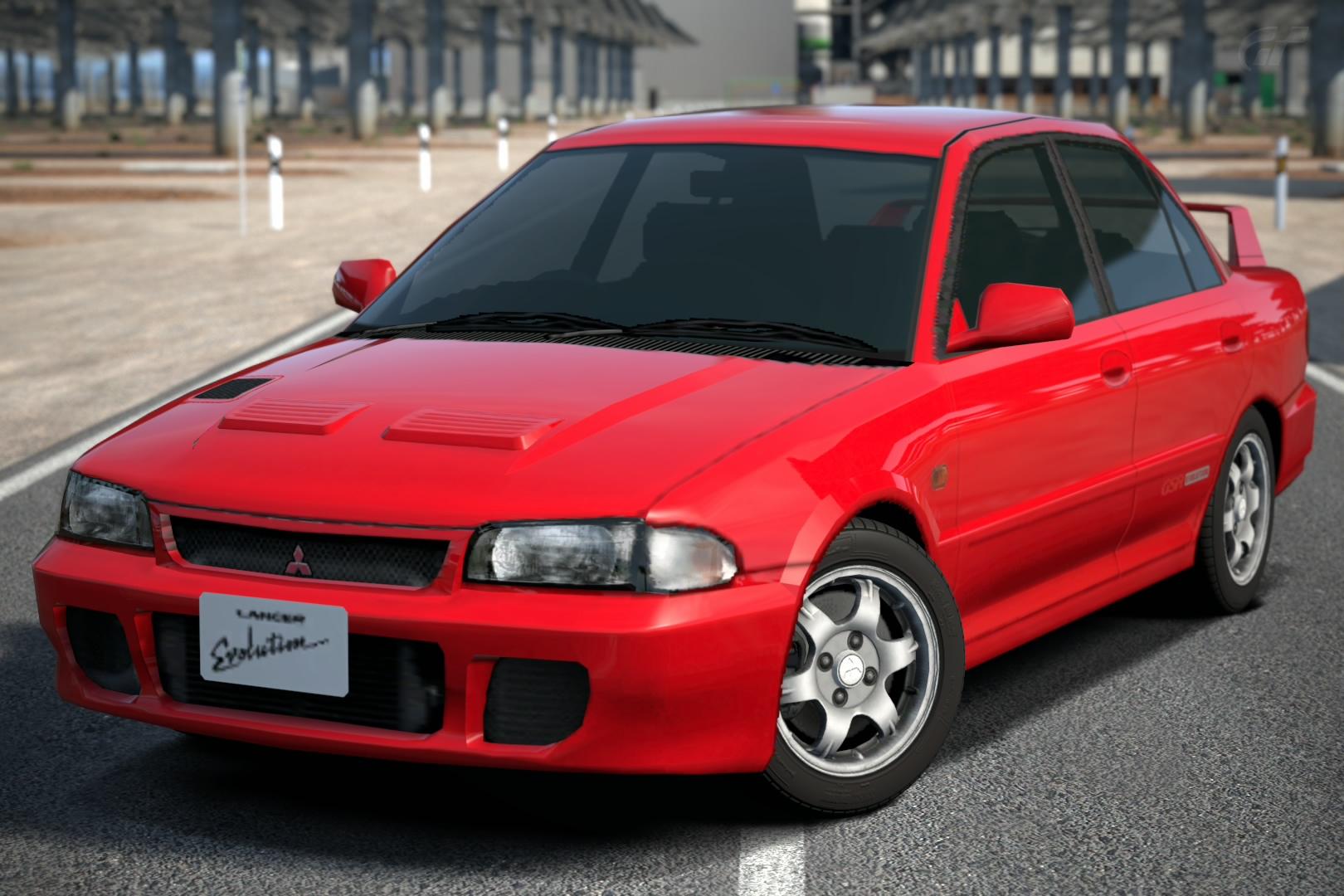 Mitsubishi Lancer Evolution GSR 92