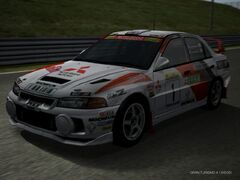 Lancer Evolution IV Rally Car '97 Revised