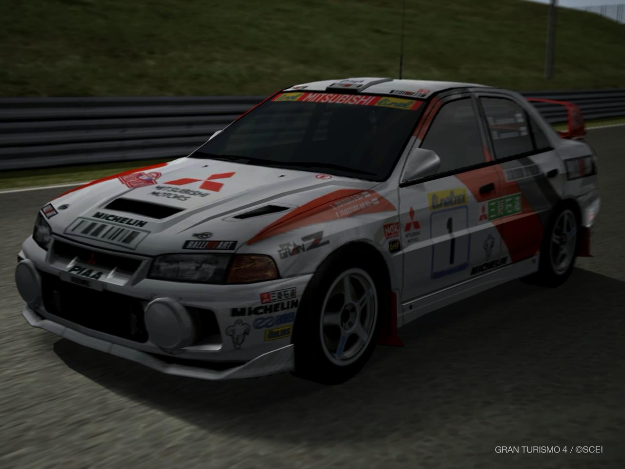 Mitsubishi Lancer Evolution IV Rally Car \'97 | Gran Turismo Wiki ...