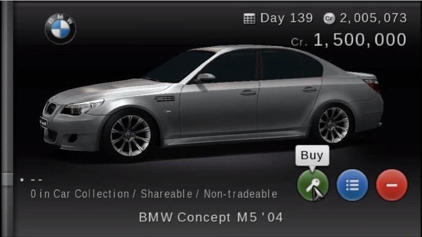 BMW Concept M5 \'04 | Gran Turismo Wiki | FANDOM powered by Wikia