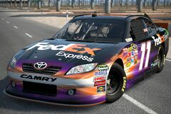 2011 Denny Hamlin ♯11 FedEx TOYOTA CAMRY '11