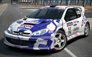Peugeot 206 Rally Car '99 (Exxon)