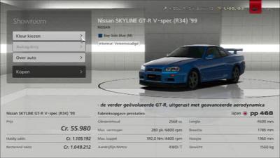 GT6 Nissan Skyline R34