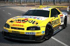Nissan PENNZOIL ZEXEL GT-R (JGTC) '01