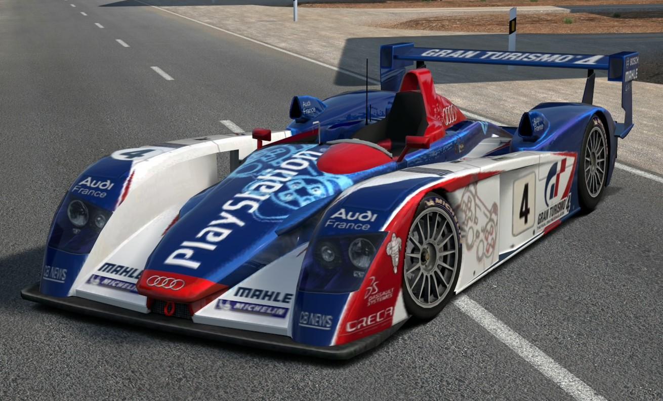 Image Audi R Race Car Audi PlayStation Team ORECA Jpg - Audi r8 race car 01 gt6