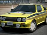 Mitsubishi STARION 4WD Rally Car '84