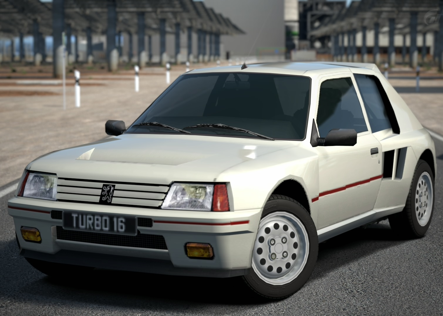 peugeot 205 turbo 16 '85 | gran turismo wiki | fandom poweredwikia